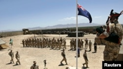 """Pasukan Australia yang bertugas di provinsi Helmand, Afghanistan (foto: ilustrasi). Anggota pasukan Australia dituduh melakukan """"banyak pelanggaran"""" sewaktu dikerahkan di Afghanistan."""