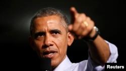 Обама даде зелено светло за тековните воздушни напади против цели на ИД во Сирија и Ирак повикувајќи се на овластувањето што Конгресот во 2001-ва му го даде на тогашниот претседател Џорџ В. Буш по терористичките напади на 11-ти септември