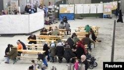 Un camp de réfugiés en Allemagne à Celle, en Basse Saxe, le 15 octobre 2015. Source: Reuters