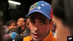 Henrique Capriles, exgobernador del estado Miranda, y líder de Primero Justicia, anunció que se retira de la alianza opositora MUD en protesta por la juramentación ante la ANC de gobernadores de oposición de Acción Democrática.