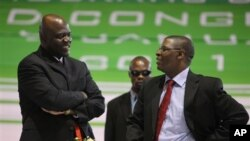 MDC leader Welshman Ncube and Deputy Prime Minister Arthur Mutambara
