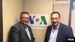 Entrevista con los líderes opositores nicaragüenses, Anibal Toruño y Aníbal Rosales