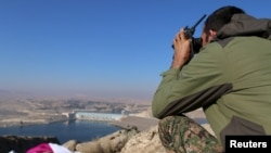 south of Kobani, Dec. 27, 2015.