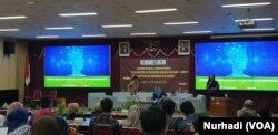 Seminar Ketahanan Energi Nasional UPN Veteran Yogyakarta, Kamis, 28 November 2019. (Foto:VOA/ Nurhadi)