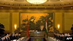Китайско-таджикская встреча на высшем уровне в Пекине