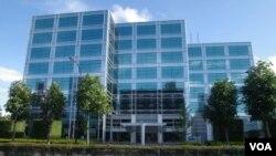 Kantor perusahaan permainan Sega di Tokyo