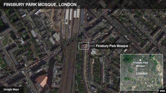 Finsbury Park Mosque, London