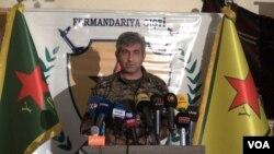 """مقام گروه کردی """"یگان مدافعان خلق"""" در شمال سوریه"""