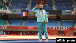 Azərbaycan paralimpiaçısı qızıl medal qazanıb