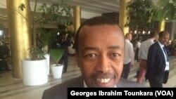 Mohamed Idriss Farah représentant permanent de Djibouti auprès de l'Union européenne, à Abidjan, le 27 novembre 2017. (VOA/Georges Ibrahim Tounkara)