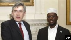 British Prime Minister Meets With Somalia President