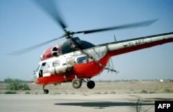 북한이 1980년대 폴란드로부터 수입한 것과 같은 기종인 MI-2 군용 헬리콥터. (자료사진)