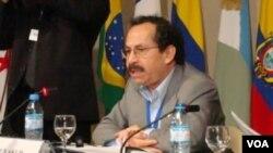 """El vicecanciller boliviano, Hugo Fernández, dijo que """"ya no hay que hablar de ATPDEA."""