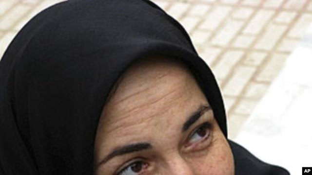 Iran's prominent activist and rights campaigner Haleh Sahabi (file photo)