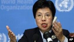 Dokter Margaret Chan, direktur WHO, secara khusus menyebut virus pernafasan mematikan baru terkait SARS di Jenewa 28/5 (foto: dok).