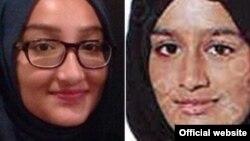 Shamima Begum (phải), 15 tuổi, và Kadiza Sultana, 16 tuổi, bỏ trốn khỏi Anh để sang Syria gia nhập ISIS vào năm 2015.