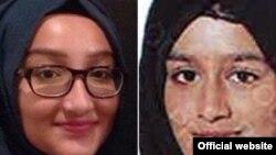 Kadiza Sultana (kiri) dan Shamima Begum yang meninggalkan keluarganya di Inggris untuk menjadi istri militan ISIS (foto: dok).