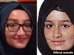 British teenagers Kadiza Sultana, 16, left, and Shamima Begum, 15, are missing and believed to be traveling to Syria to join Islamic State terrorists. (Photo: London Metro Police)