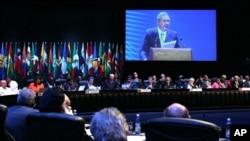 La CELAC está compuesta por todos los países de América Latina y el Caribe, sin Estados Unidos y Canadá.