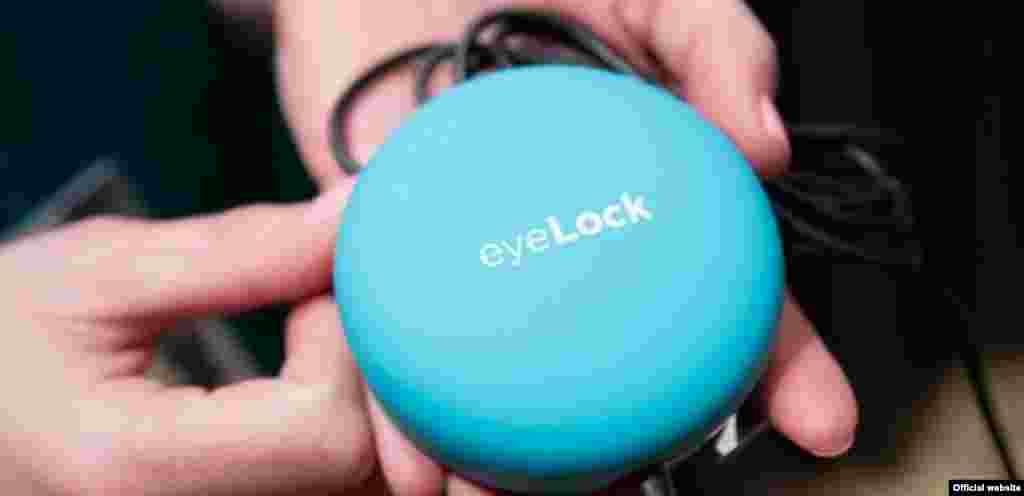 EyeLock myris Iris Scanner é um scanner que consegue descodificar palavras-passe através do olhar.
