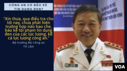 """Bộ trưởng Tô Lâm thừa nhận tín dụng đen đang là vấn đề """"bức xúc"""" của toàn xã hội."""