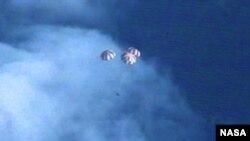 Phi thuyền Orion trở về Trái Đất sau chuyến bay thử thành công