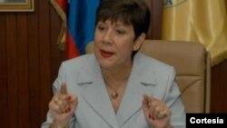 Cecilia García Arocha, rectora de la Universidad Central de Venezuela