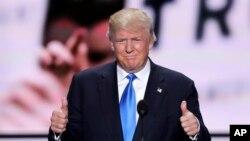 Ðảng Cộng hòa chính thức đề cử tỉ phú Donald Trump làm ứng cử viên tổng thống.