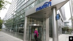 Kantor pusat perusahaan minyak Nexen di kota Calgary, Kanada (foto: dok).