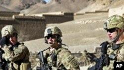 아프가니스탄에서 작전을 수행중인 미군