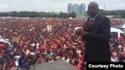 VaNelson Chamisa pane umwe musangano wavakamboita