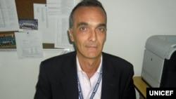 Roberto De Bernardi da UNICEF Maputo