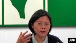Bà Thái Anh Văn, Chủ tịch đảng đối lập 'Dân chủ Cấp tiến' ở Đài Loan