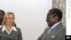 欧盟与穆加贝会谈未能解决制裁问题
