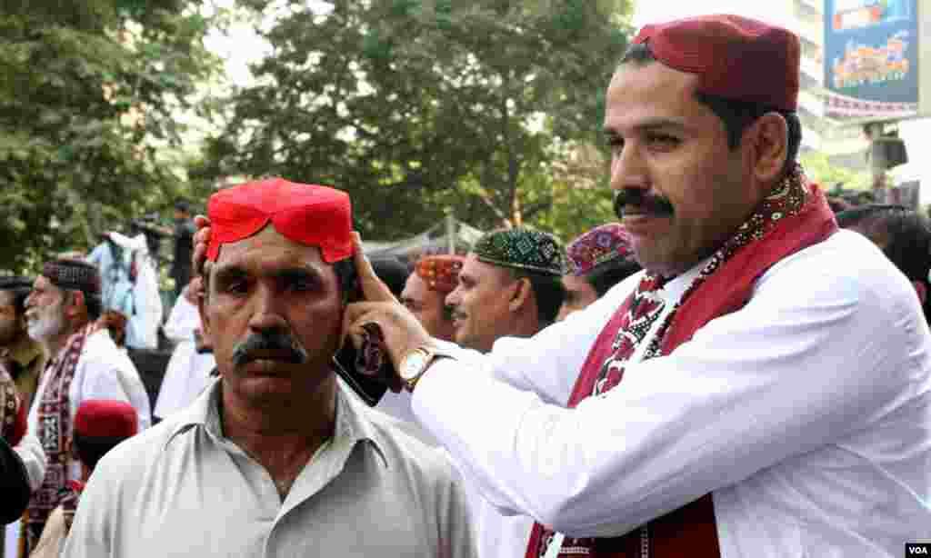 سندھ کی روایتی ٹوپی
