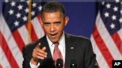 奧巴馬總統星期一將推出減赤計劃