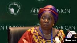 15일 아프리카연합의 새 집행위원장으로 선출된 은코사자나 들라미니-주마 남아프리카공화국 내무장관.