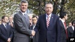 Οι κύριοι Θάτσι και Ερντογάν στην Πρίστινα