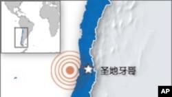 智利地震灾情