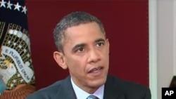 바락 오바마 미국 대통령 (자료사진)