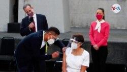 En fotos: México esperanzado comienza vacunación contra COVID-19