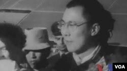 21岁的达赖喇嘛(视频截图)