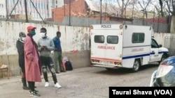 UTawanda Muchehiwa wahanjiswa emthethwandaba yi ambulance ngoba elimele kakhulu.