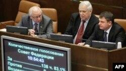 Голосование в Думе РФ по СНВ-3