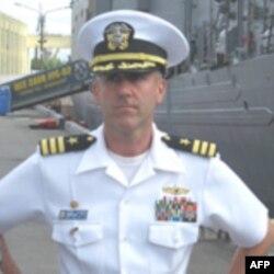 Корабль ВМФ США прибыл с визитом в Санкт-Петербург