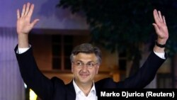 Andrej Plenković, predsednik HDZ-a i aktuelni hrvatski premijer (Foto: REUTERS/Marko Djurica)