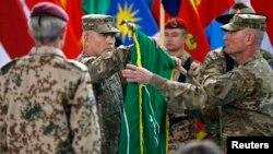 Ceremonija okončanja borbene misije u Avganistanu