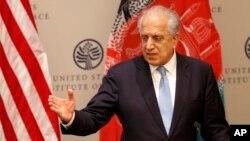 ښاغلی خلیلزاد وايي ټوله هڅه یې دا ده چې افغانستان کې سوله راشي