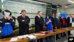 Un procès au tribunal régional de Berlin, Allemagne, 13 juin 2017.