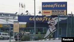 Một nhà máy của Goodyear ở Shah Alam, Malaysia.